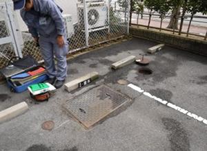 埋設ガス管調査